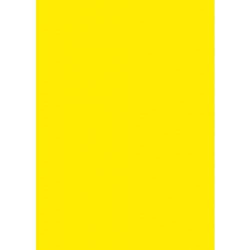 Skiltekarton gul neon 50 x 70 cm 260 gram - 100 ark