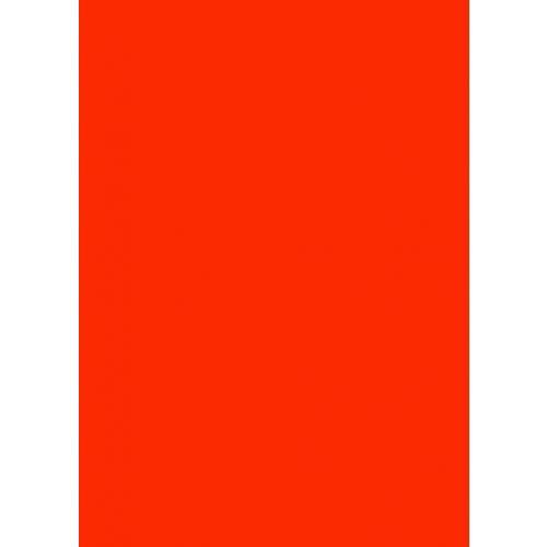 Skiltekarton rød neon 50 x 70 cm 260 gram - 100 ark