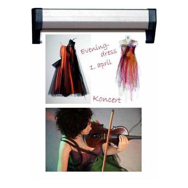 Fast Note Skinne 125 cm 30 mm - Aluprofil til 125 cm plakater