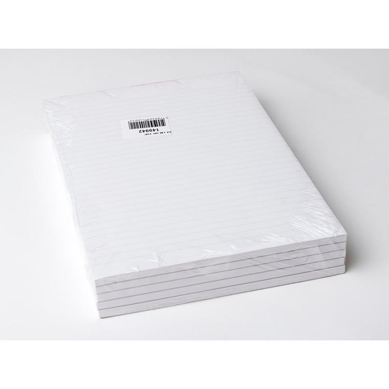 Skrive blok - A4 linjeret toplimet - 100 ark