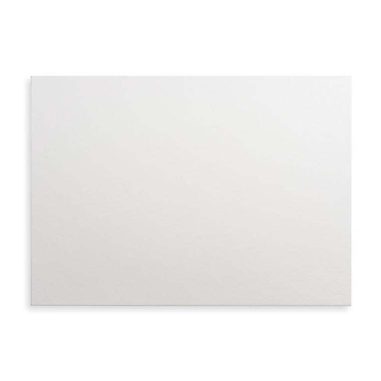 Skrivebordsunderlag læder look hvid - 60 x 43 cm