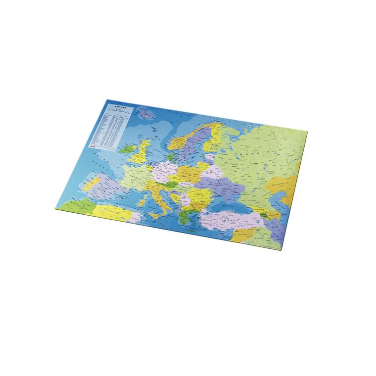 Skriveunderlag med Europakort - Esselte - mål 41 x 54 cm