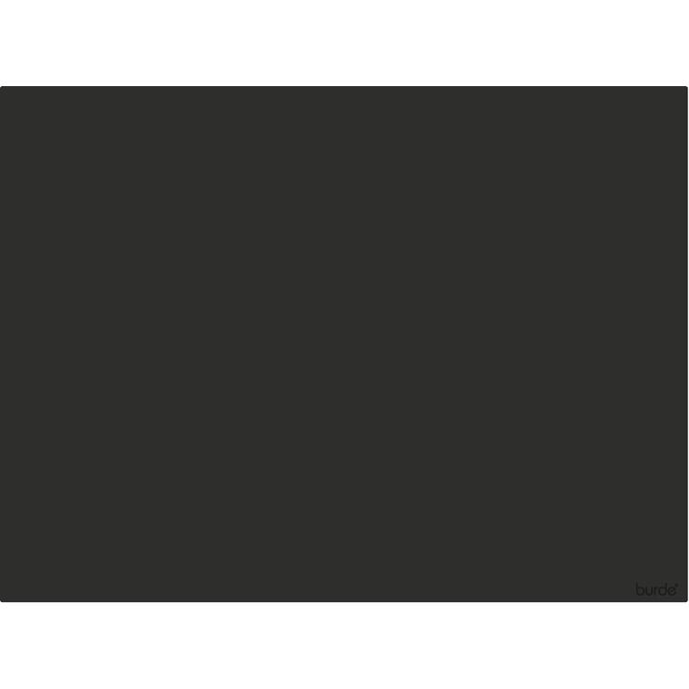 Skriveunderlag sort kunstskind 600x430mm