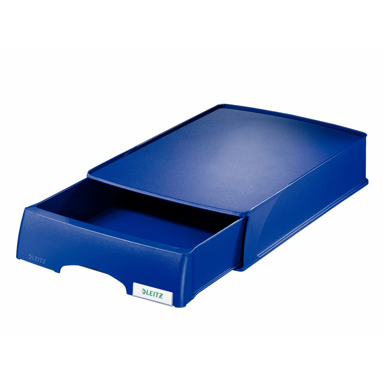 Skuffemodul Leitz plus blå