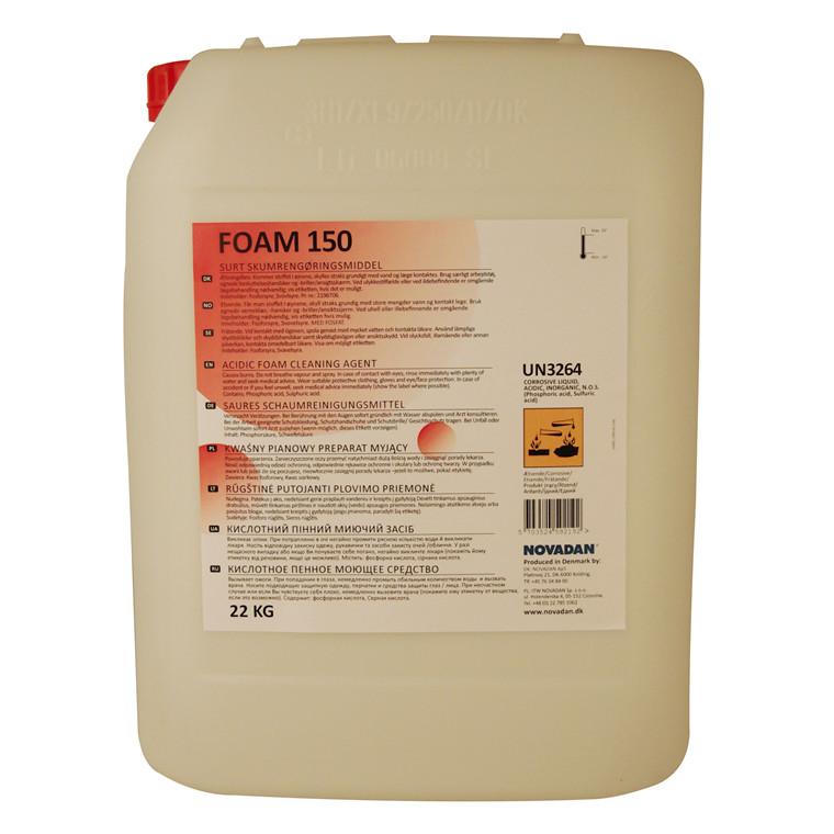 Novadan Foam 150 Surt skumrengøringsmiddel - 20 liter