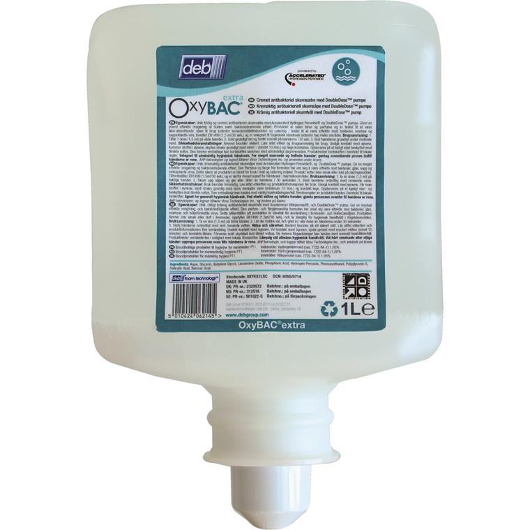 Deb Stoko Oxybac Extra Skumsæbe - 1 liter patron
