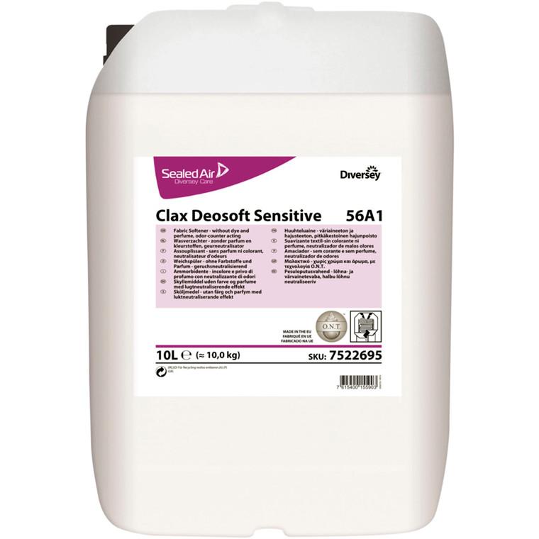 Skyllemiddel, Clax Deosoft Sensitive, 10 l