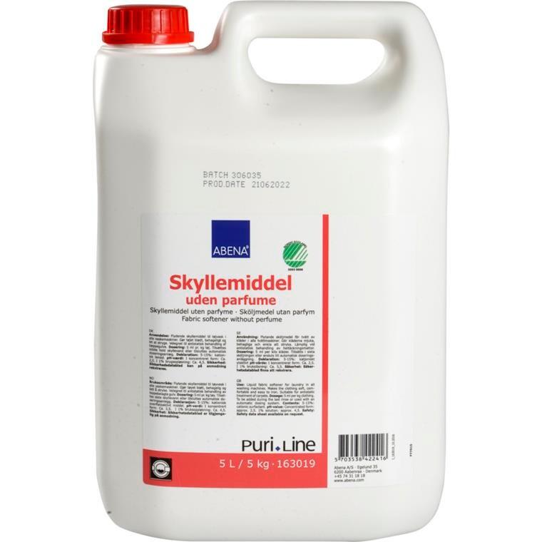 Skyllemiddel, Puri-Line, uden duft, til automatisk doseringsanlæg, 5 l