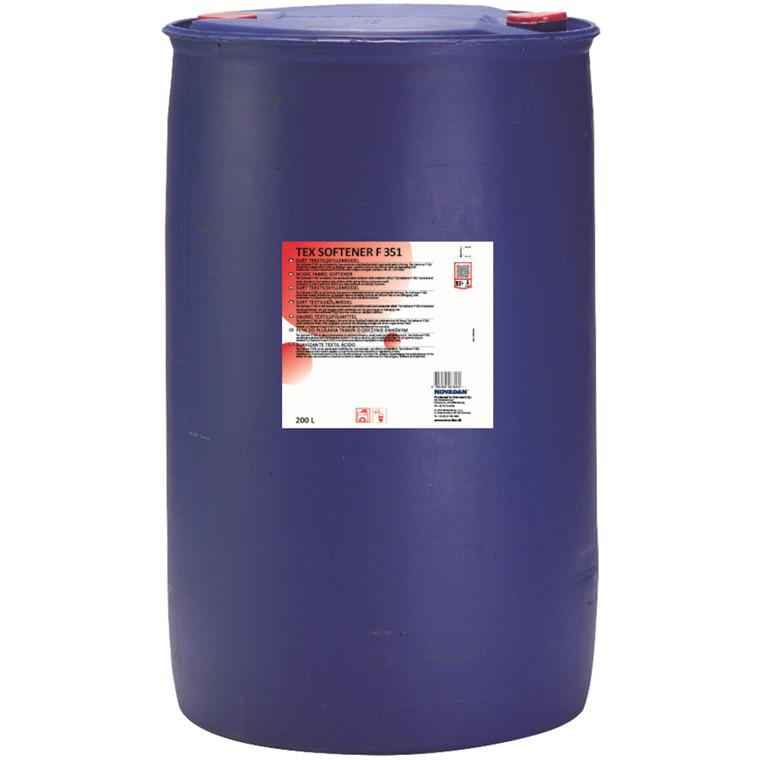 Skyllemiddel, Tex Softener F351, med duft, til automatisk doseringsanlæg, 200 l