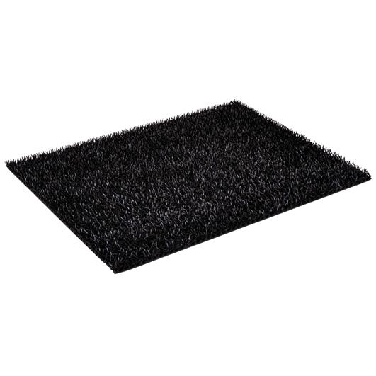 Smuds måtte FinnTurf | Sort 60 x 90 cm