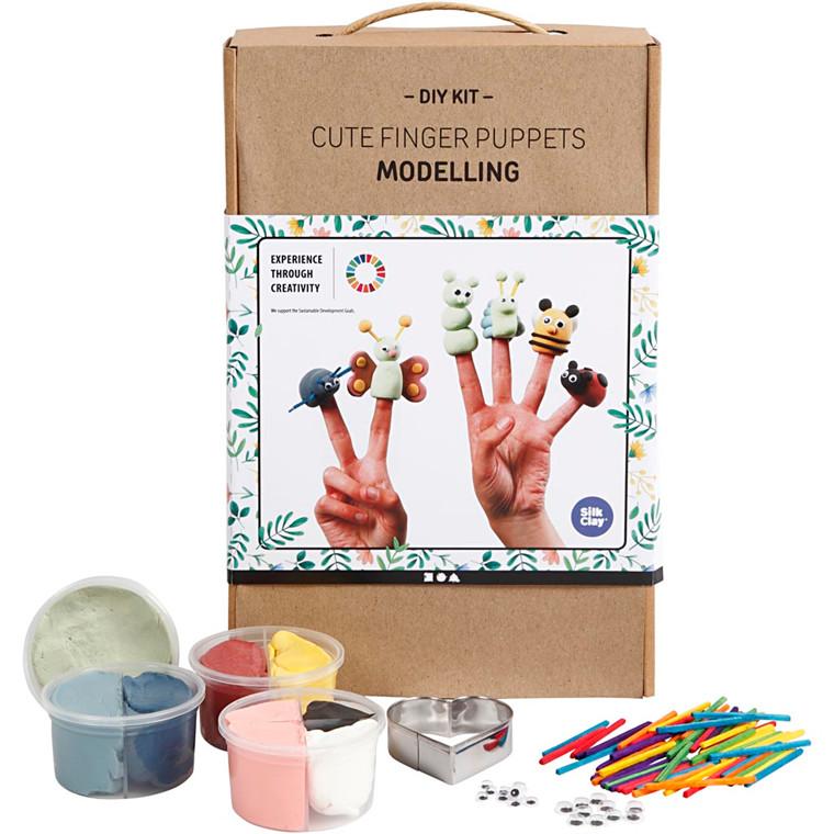 Søde fingerdukker, modellering, 1sæt