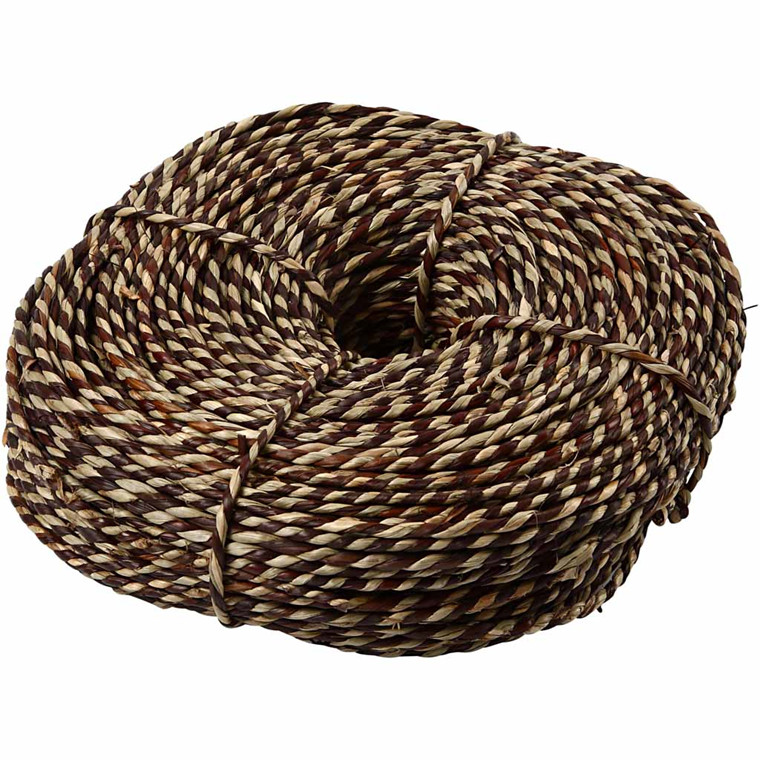 Søgræssnor bredde 3,5-4 mm cirka 100 meter brun | 500 gram