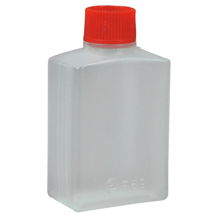 Soyabeholder 15ml klar m/rødt låg 60stk/pak