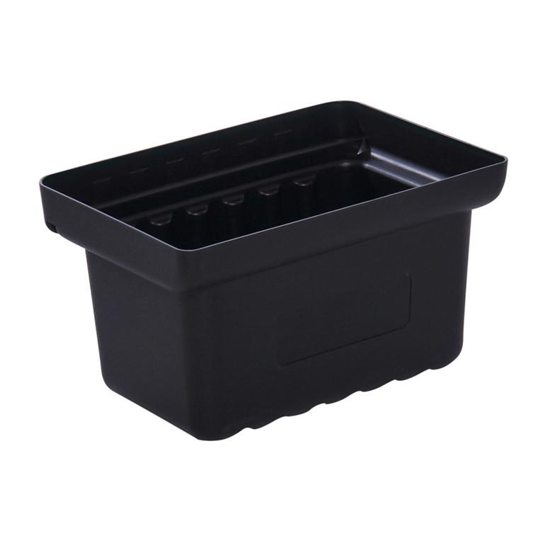 Spand, Tina Trolleys, sort, lille, til fiberplast rullebord, 24 cm,