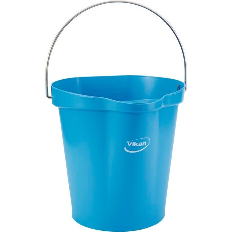 Spand, Vikan Hygiejne, blå, 12 l, 31,80 cm,