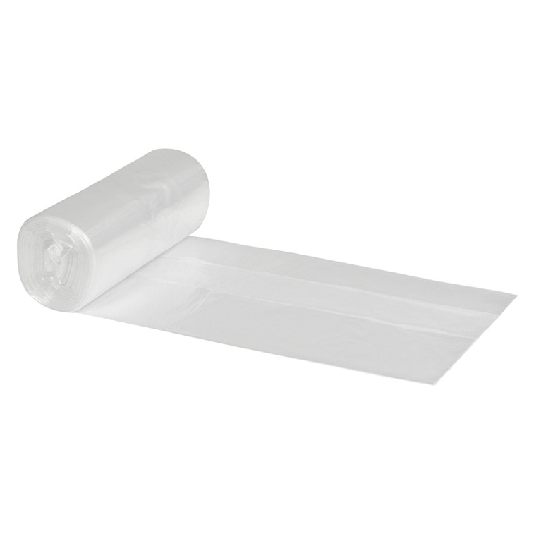 Spandepose 40 liter i  LD klar - 600 x 700 mm 50 poser pr rulle