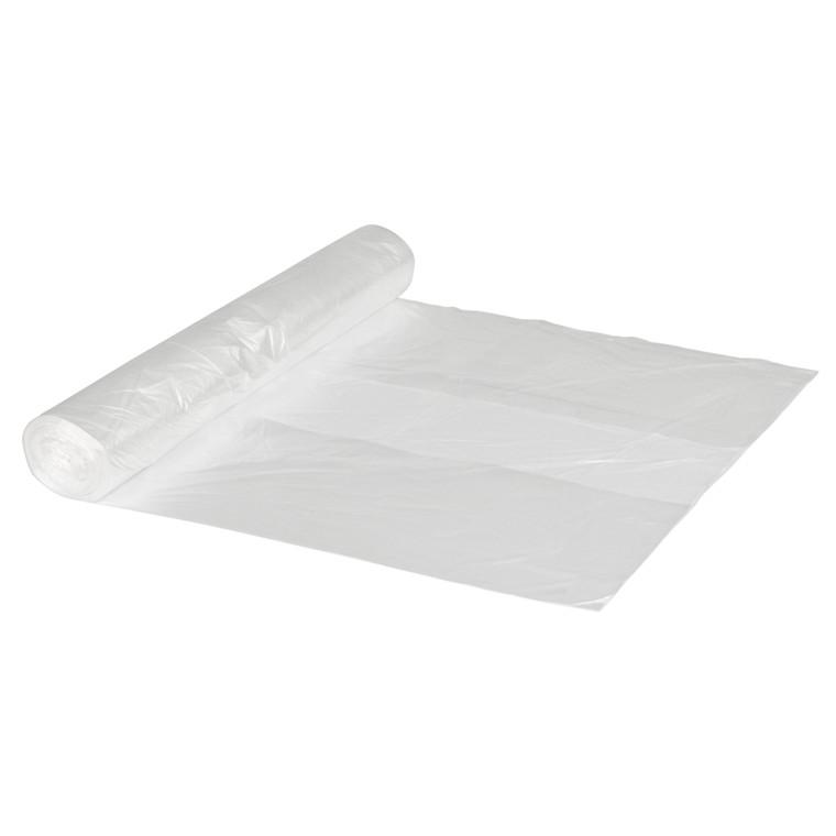 Spandepose i klar 55 liter LD - 650 x 850 mm 50 poser pr rulle