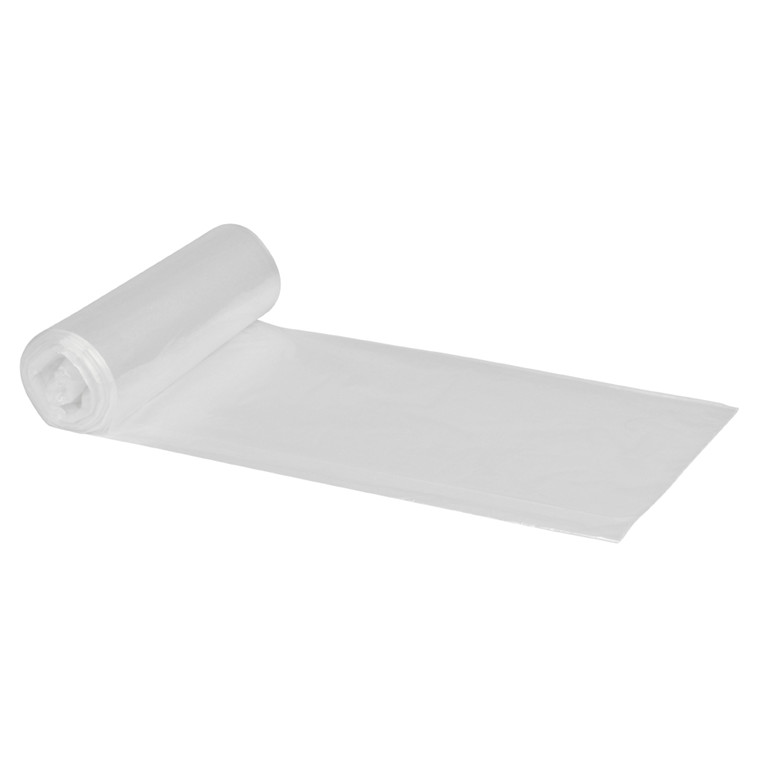 Spandepose LD 20 liter i klar - 500 x 500 mm 50 poser pr rulle