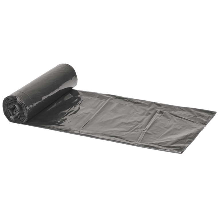Spandepose i grå LD - 500 x 650 mm 24 poser pr rulle