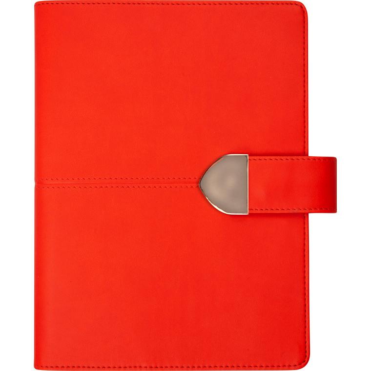 Spiralkalender kunstskind rød 12x17cm 1 dag/side 20 2102 00