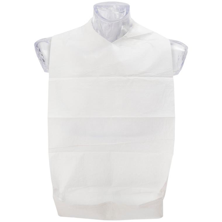 Spisestykke, Abena, ubleget/hvid, med vendbar lomme, 37x70 cm