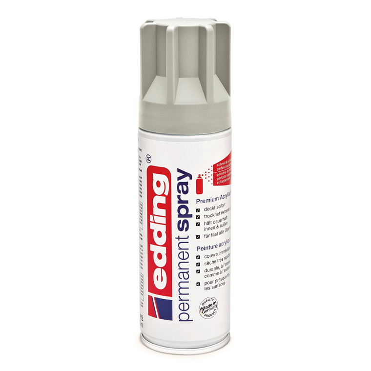 Edding Spray 200 ml - 925 mat light grey