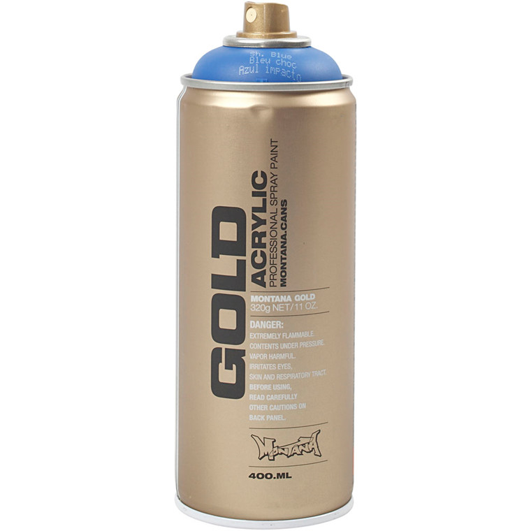 Spraymaling, blå, 400ml