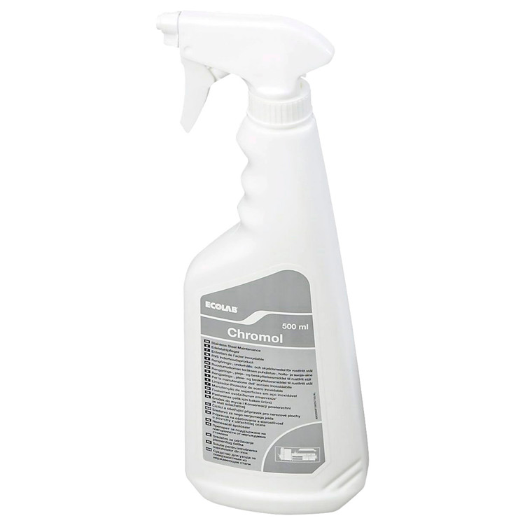 Chromol Stålpleje - 500 ml
