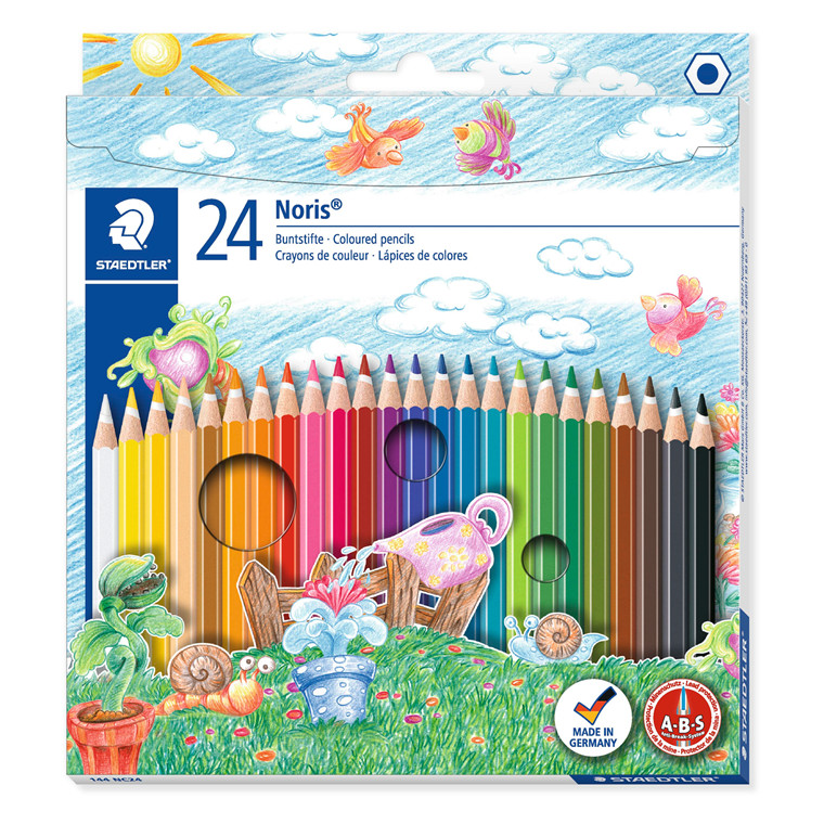 Staedtler Farveblyant Noris Club ass (24)