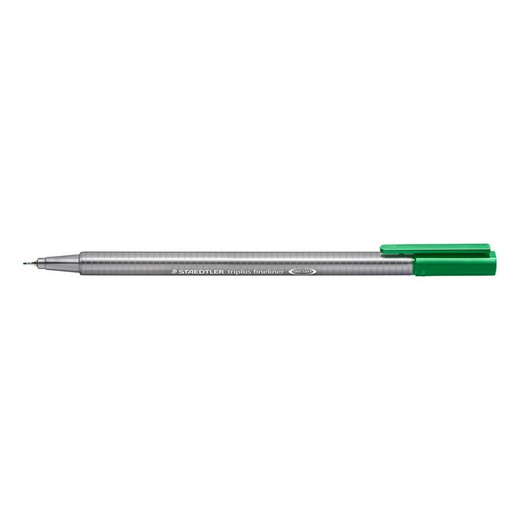 Staedtler Fineliner Triplus 0,3mm grøn