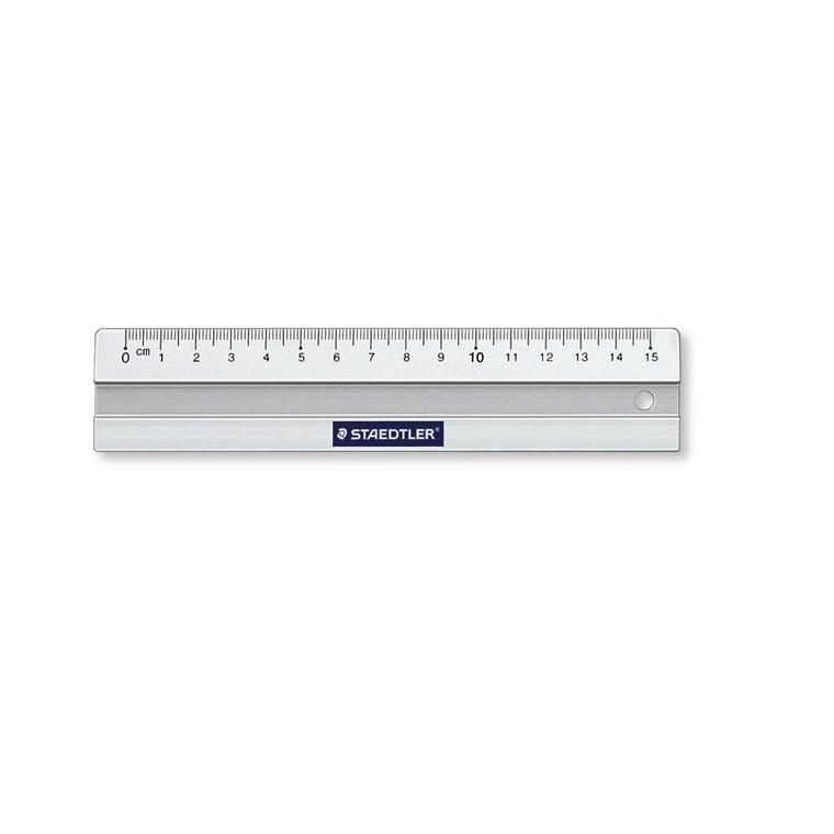 Staedtler Lineal aluminium 15cm