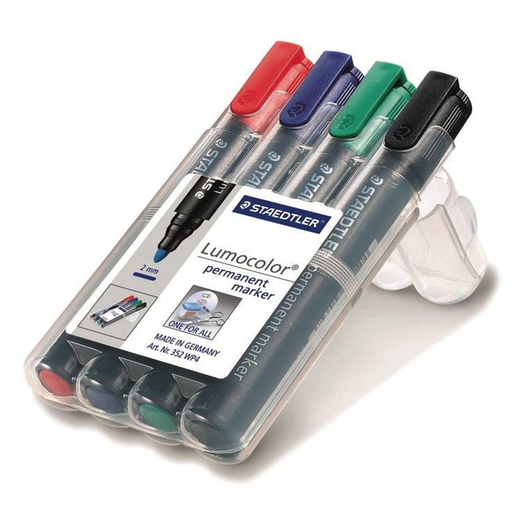 Staedtler Marker Lumocolor Perm rund 2,0mm ass (4)