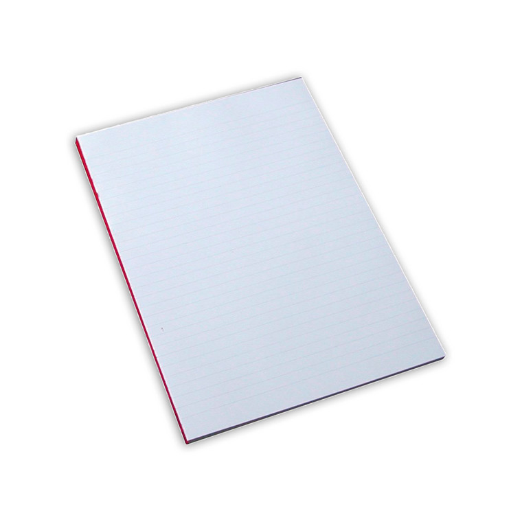 Standardblok - A4 linjeret uden huller - 100 ark