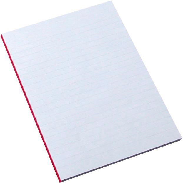 Blok - A5 linjeret 60 gram papir - 100 ark