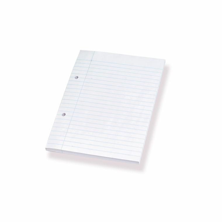 Standardblokke - A5 linieret med 2 huller - 100 ark