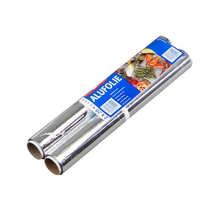 Stanniol 30 cm x 20 meter - 2 ruller i pakningen