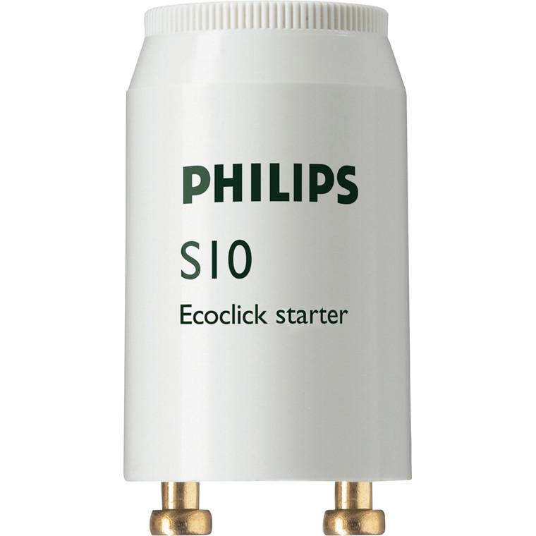 Starter t/lysstofrør S10 2P 4-65W 220-240V