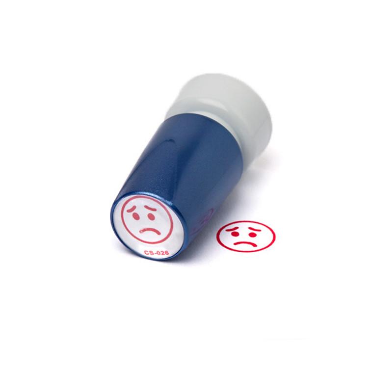 Stempel Trodat Deskmate - Ked af det ansigt med rød tekst