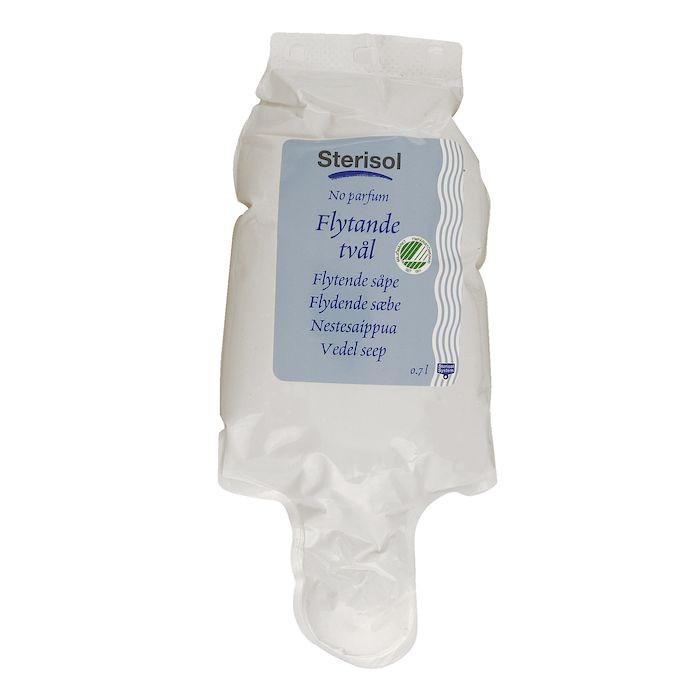 Sterisol Håndsæbe uden farve & parfume | 700 ml