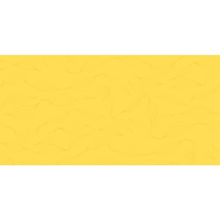Stikdug, Polysoft, lamineret, gul, papir, 90cm x 90cm 90x90cm