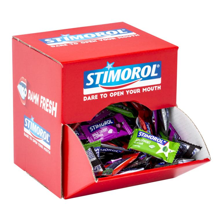 Stimorol display - dental assorteret - 170 poser af 2 stk.