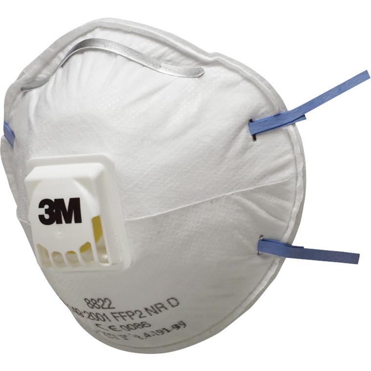 3M Støvmaske  8822 - FFP2 med ventil - 10 stk