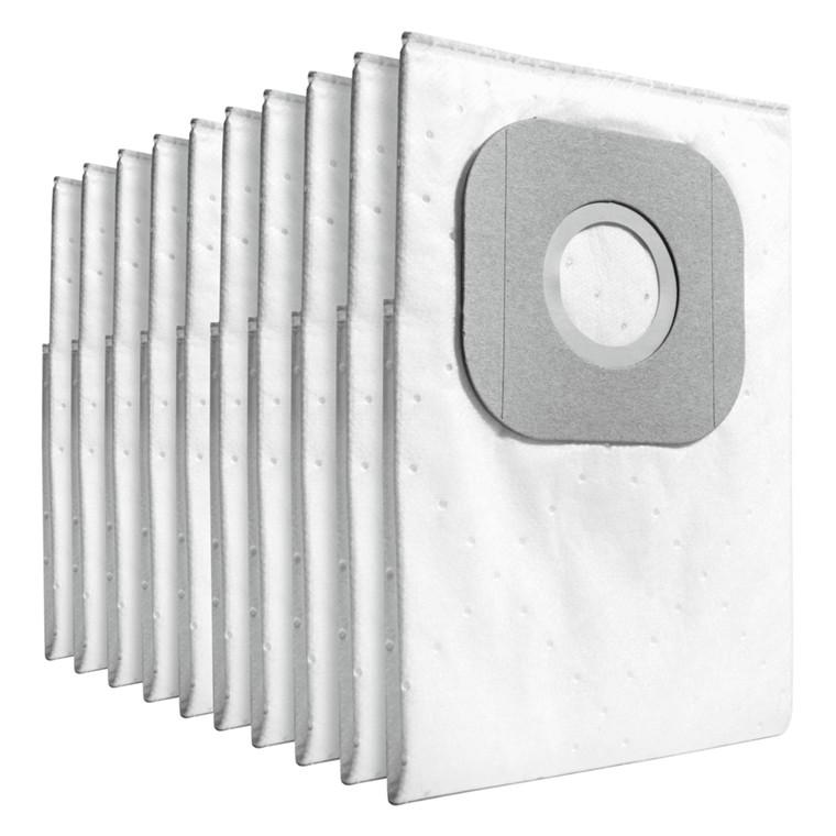 Støvsugerpose, Kärcher, hvid, 3-lags, støvklasse M, til T 7/1, fleece, 0,21 m, 7 l,