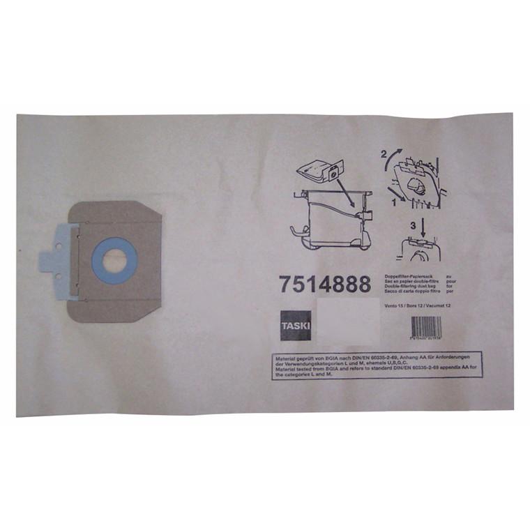 Støvsugerpose til Vento 15 10stk/pak