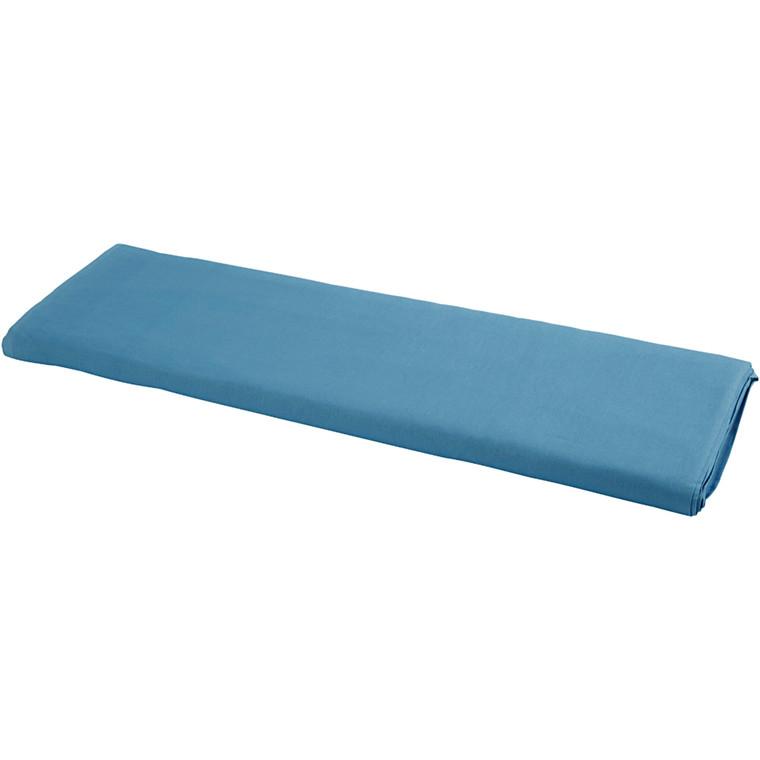 Stof bredde 145 cm 140 g/m2 blå | 10 meter