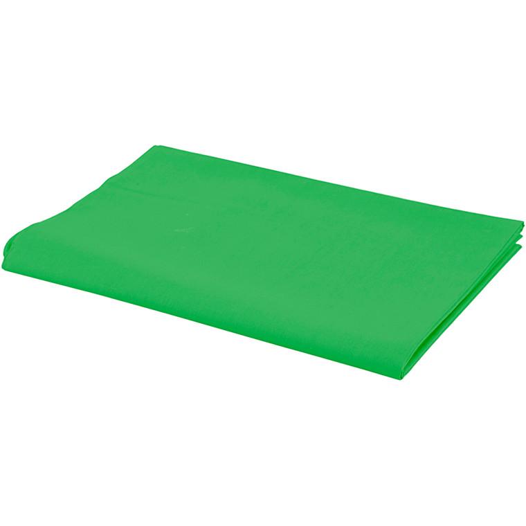 Stof bredde 145 cm 140 g/m2 grøn   1 løbende meter