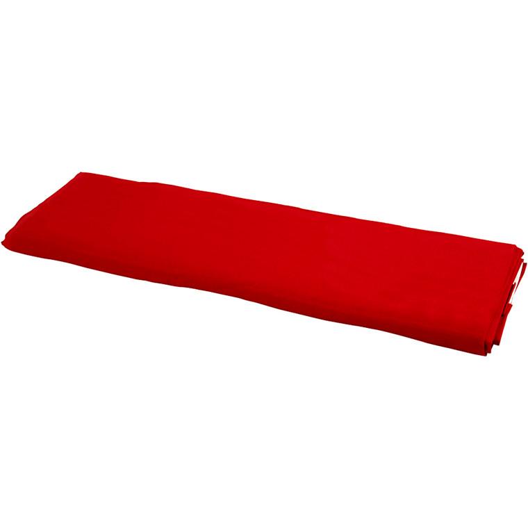 Stof bredde 145 cm 140 g/m2 rød | 10 meter
