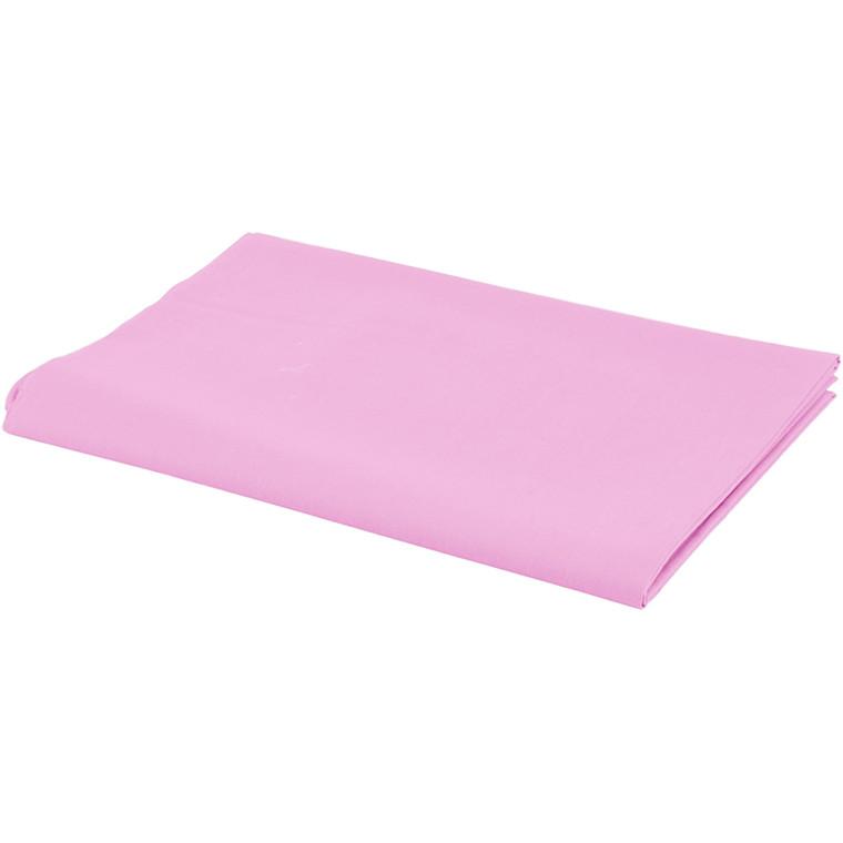 Stof bredde 145 cm 140 g/m2 rosa | 1 løbende meter