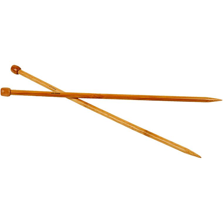 Strikkepinde, nr. 9 , 1par