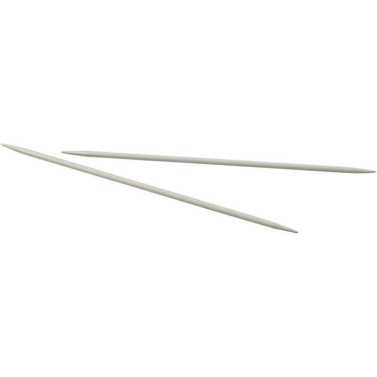 Strømpepinde nr. 4 længde 20 cm | Metal